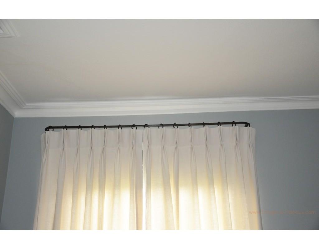 tringle rideaux luberon petit mod le sur mesure en fer. Black Bedroom Furniture Sets. Home Design Ideas