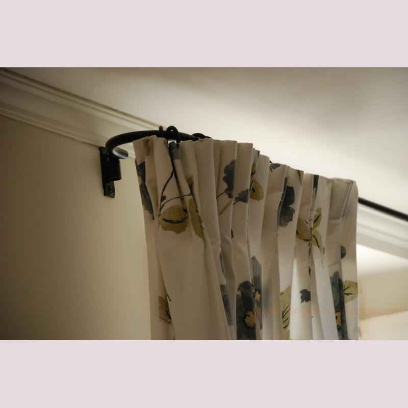 tringle rideaux provencale petit mod le sur mesure en. Black Bedroom Furniture Sets. Home Design Ideas