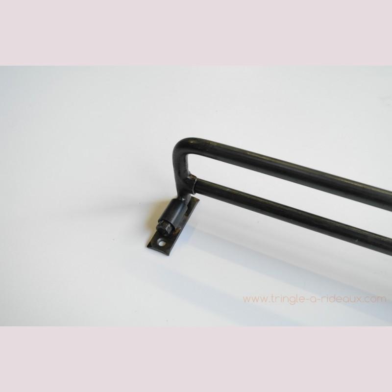 tringle rideaux coud e naissance sur mesure en fer forg 16mm tringle a. Black Bedroom Furniture Sets. Home Design Ideas