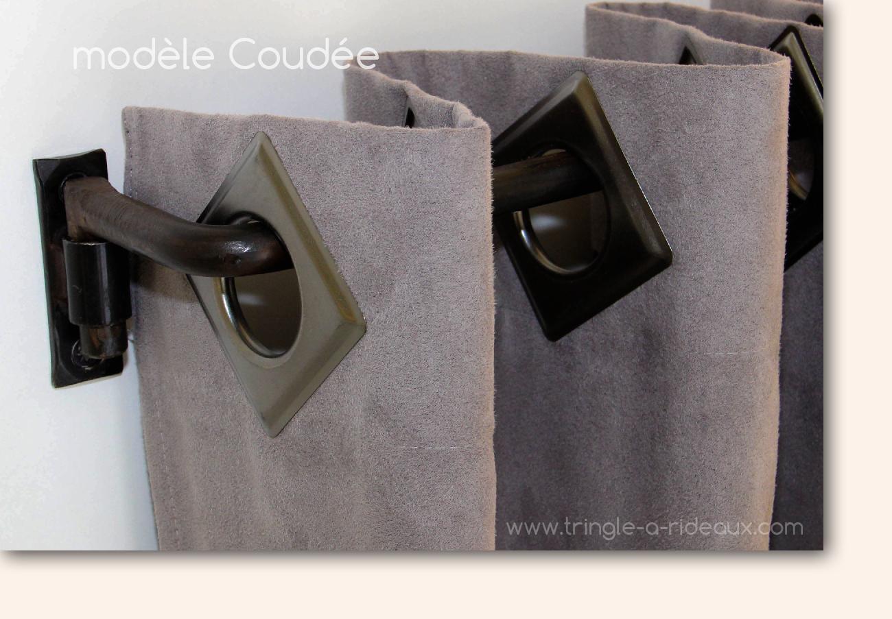 modèle Coudée de tringle-a-rideaux.com, le spécialiste de la tringle à rideaux sur mesure en fer forgé