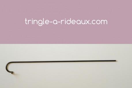 Tringle à rideaux provençale naissance simple 12 sur-mesure en fer forgé - produit