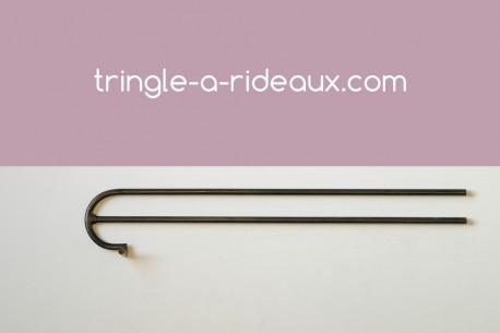 Tringle à rideaux provençale naissance double 16 - produit